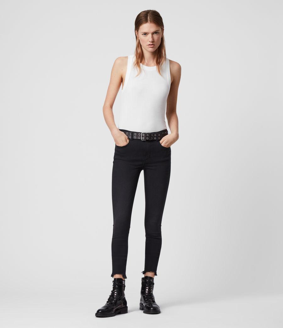Mujer Camiseta sin Mangas Rina (chalk_white) - Image 3