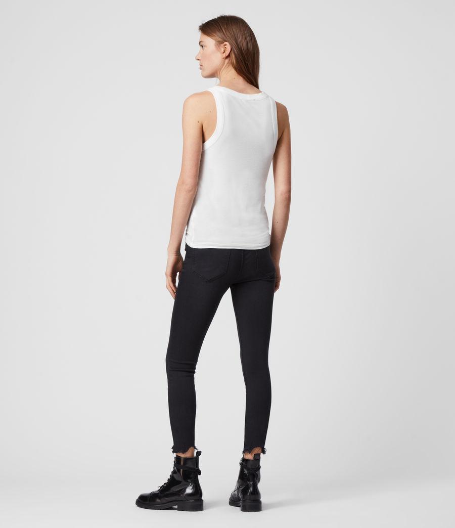 Mujer Camiseta sin Mangas Rina (chalk_white) - Image 5
