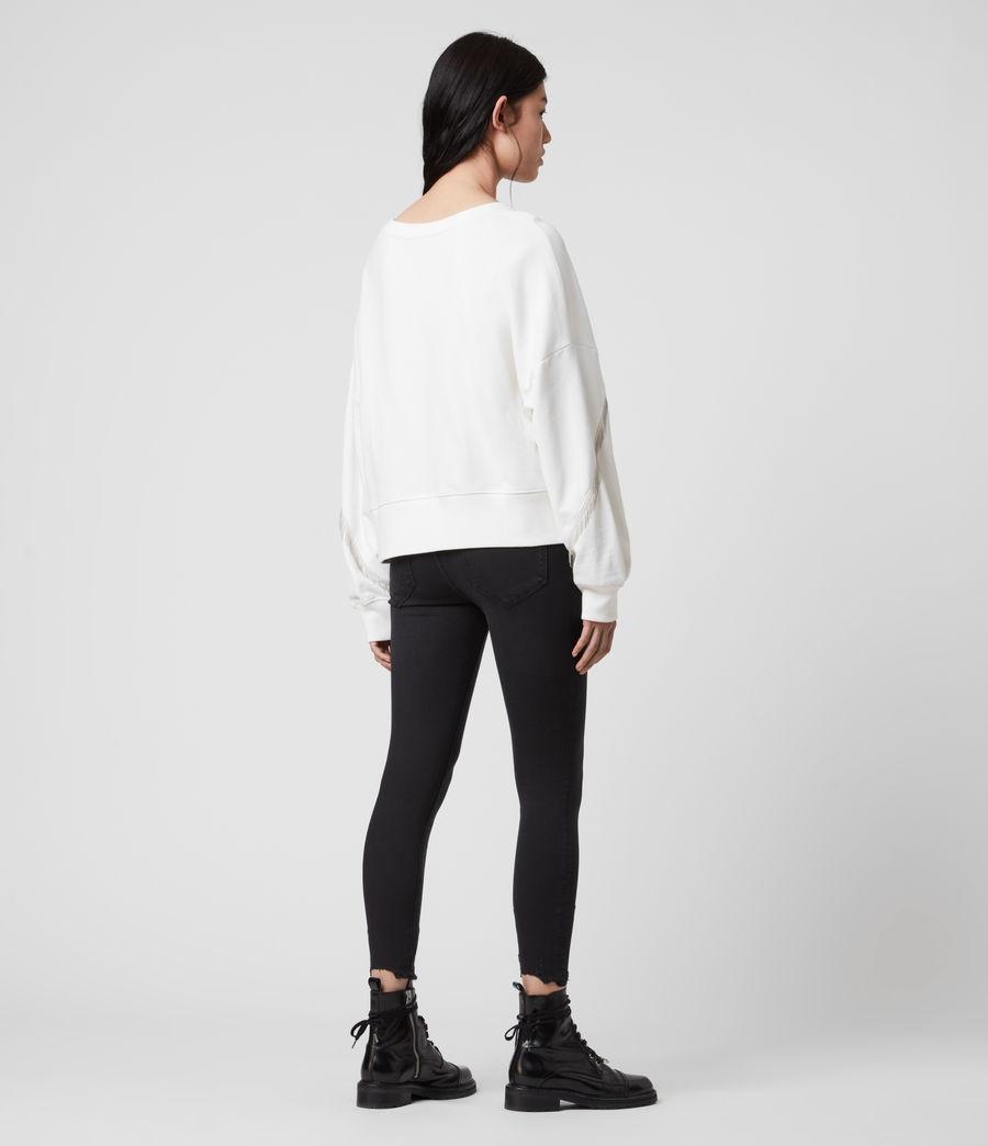 Women's Uda Chain Sweatshirt (chalk_white) - Image 4