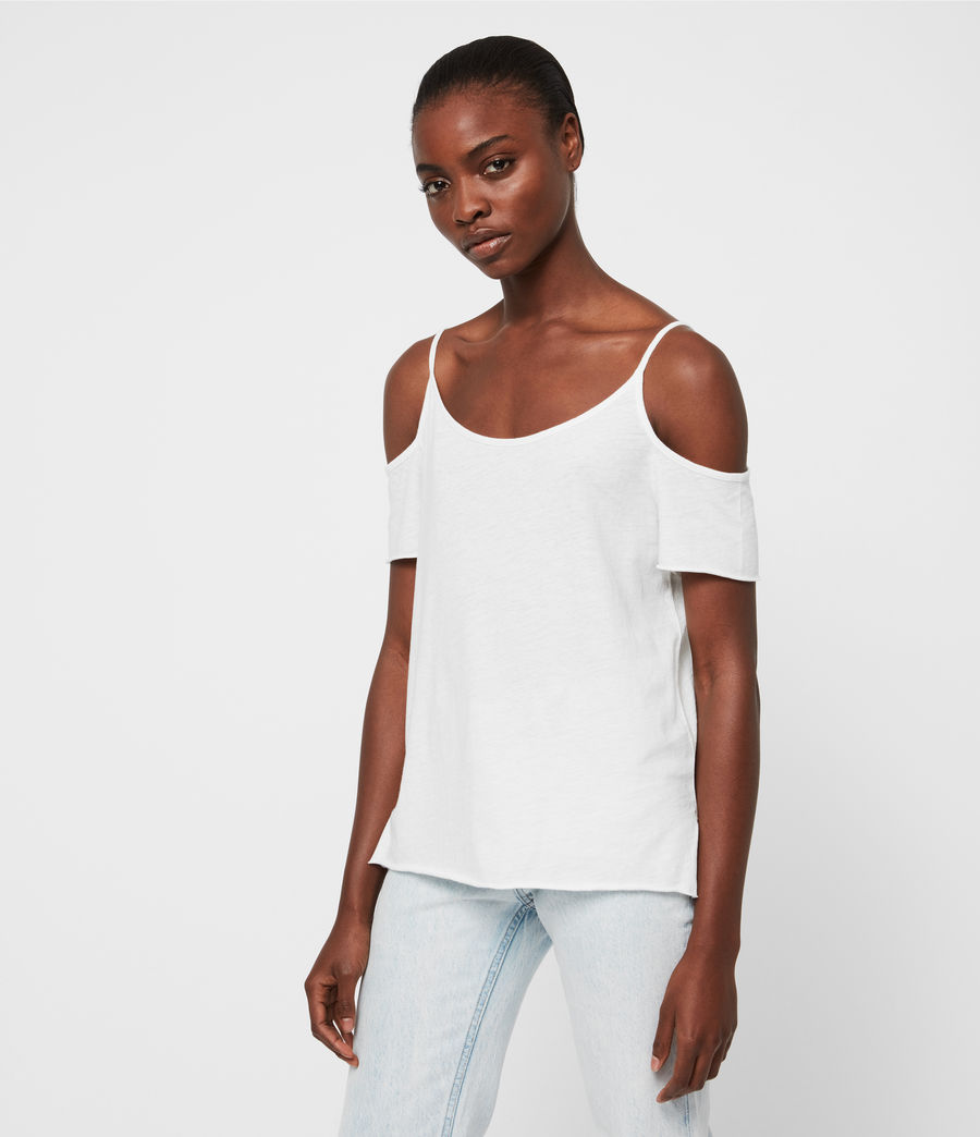 Damen Brady T-Shirt (chalk_white) - Image 4