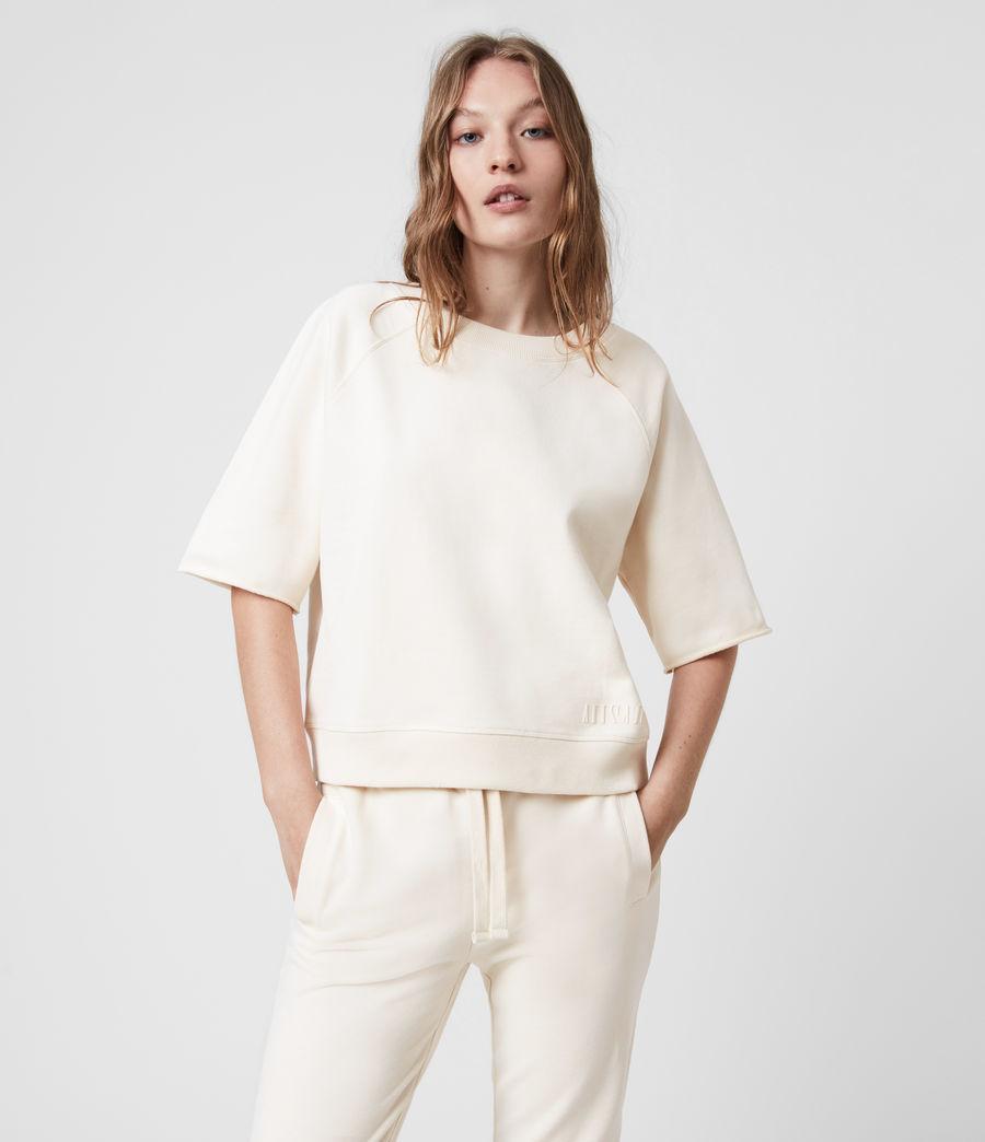 Womens Lila Sweatshirt (ecru_white) - Image 1
