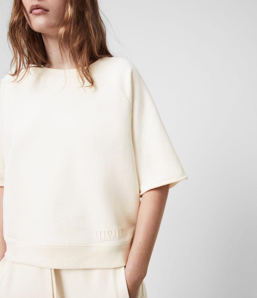 Womens Lila Sweatshirt (ecru_white) - Image 4