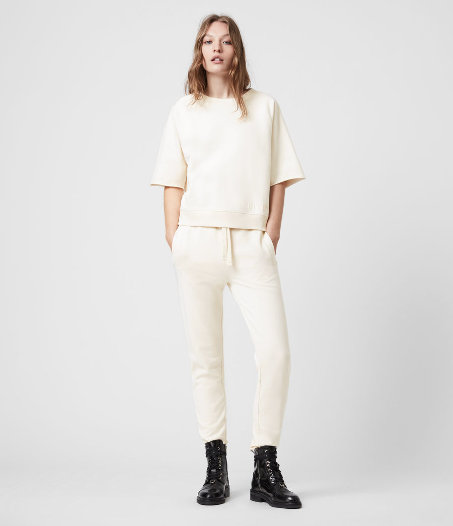 Womens Lila Sweatshirt (ecru_white) - Image 7