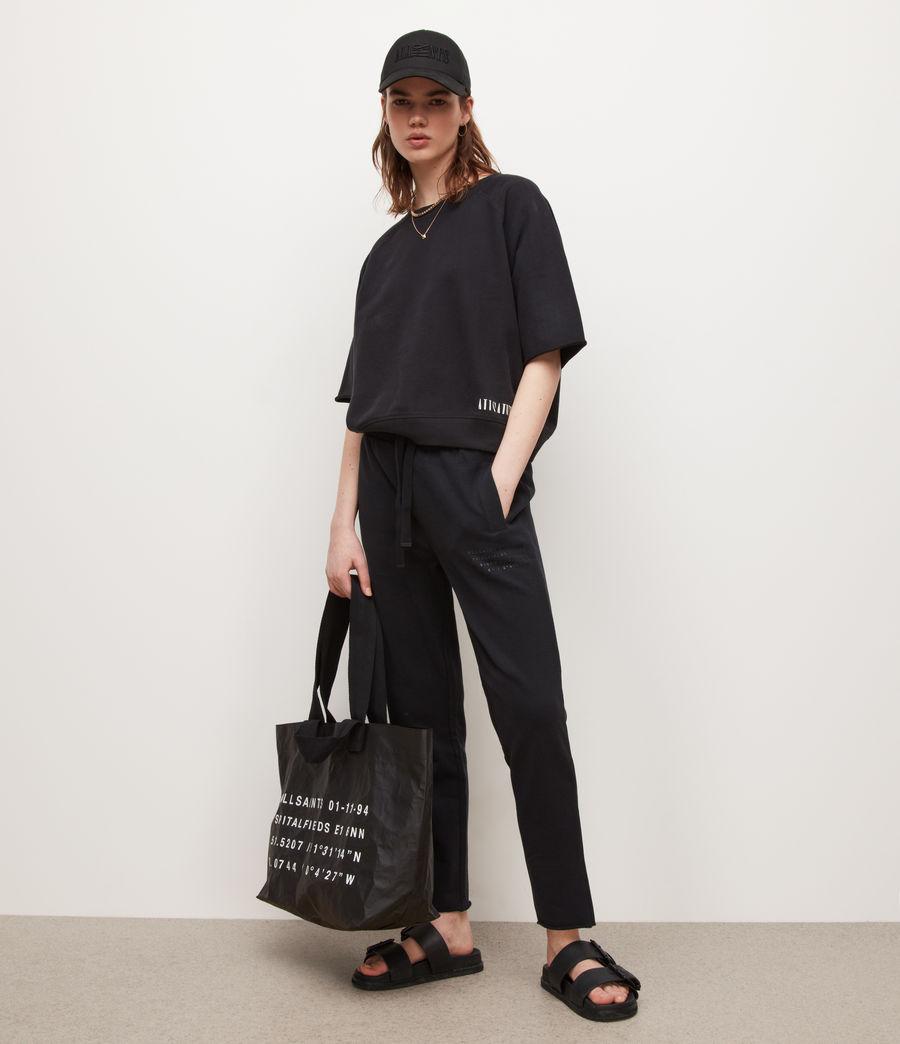 Womens Lila Sweatshirt (black) - Image 1
