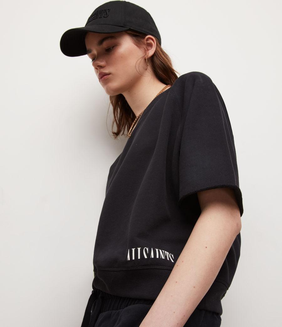 Womens Lila Sweatshirt (black) - Image 2