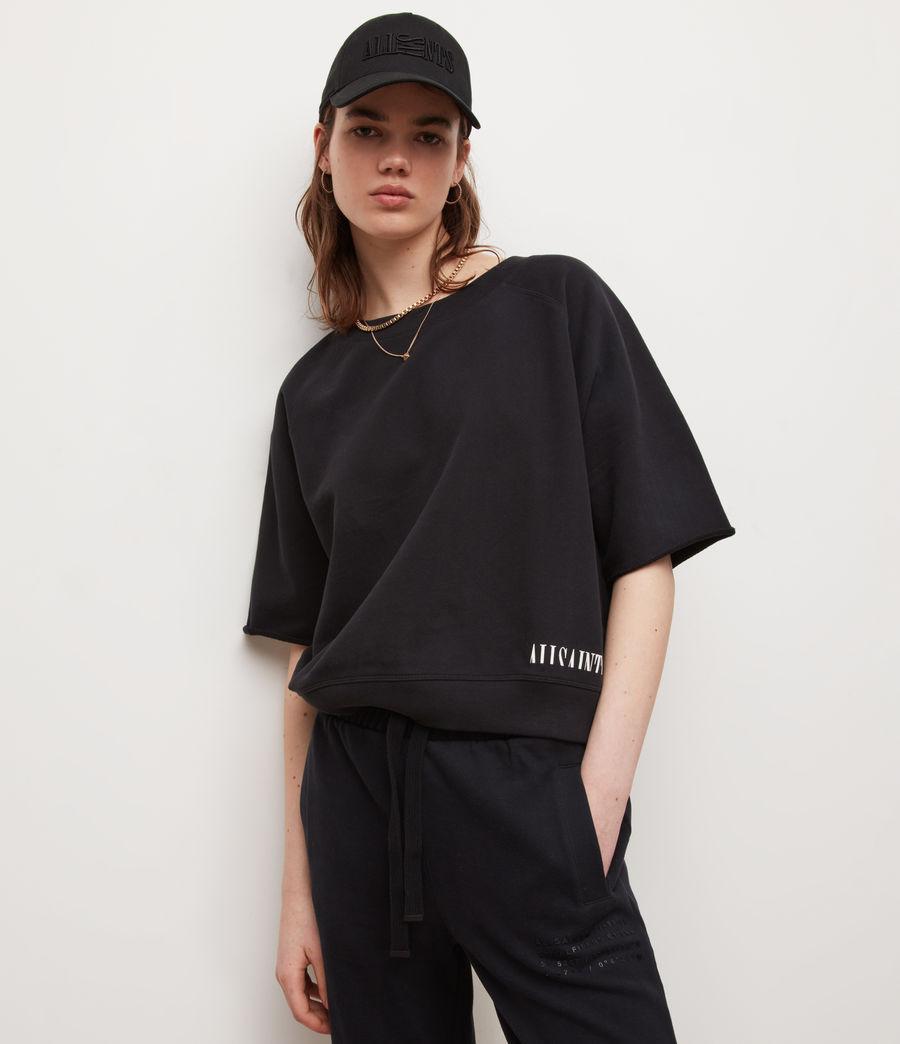 Womens Lila Sweatshirt (black) - Image 3