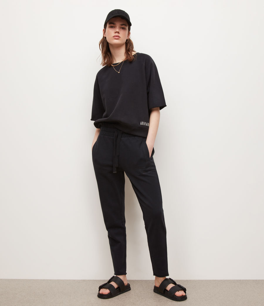 Womens Lila Sweatshirt (black) - Image 4