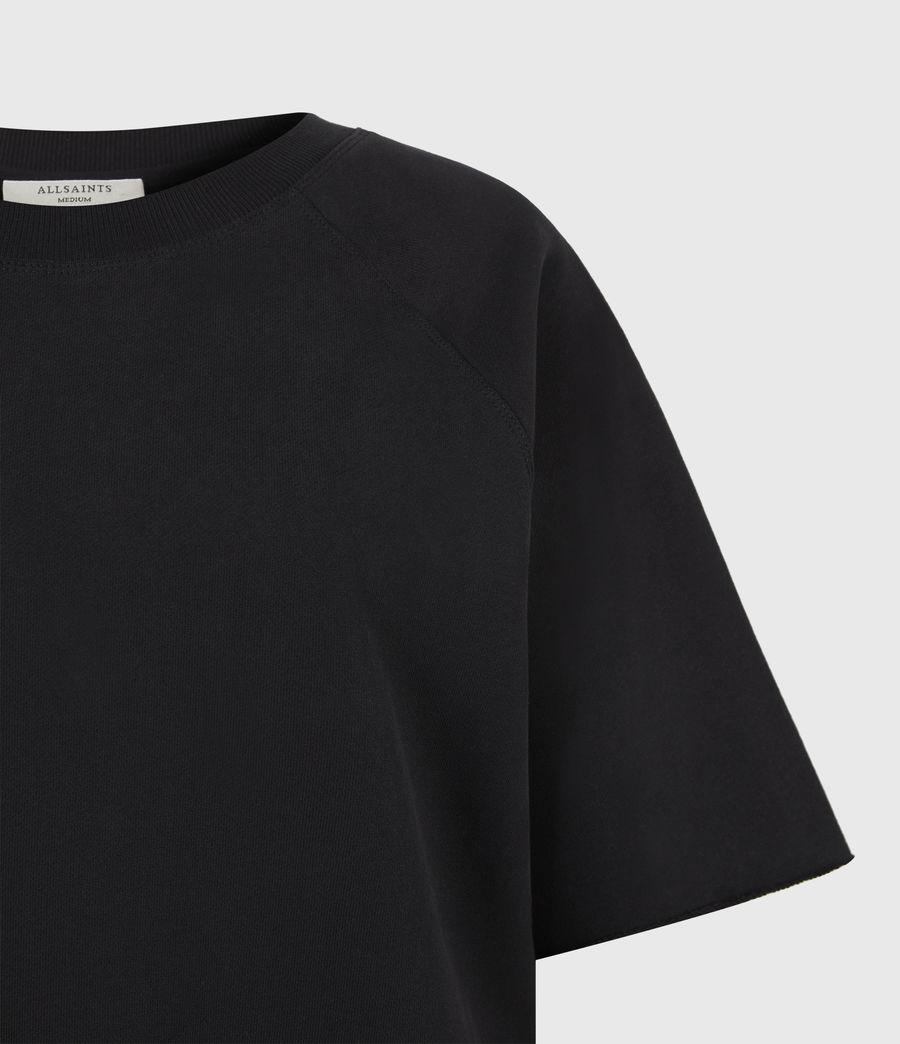 Womens Lila Sweatshirt (black) - Image 6