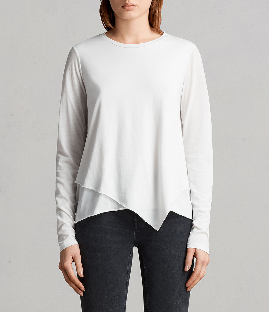 Mujer Camiseta Daisy Devo (smog_white) - Image 1