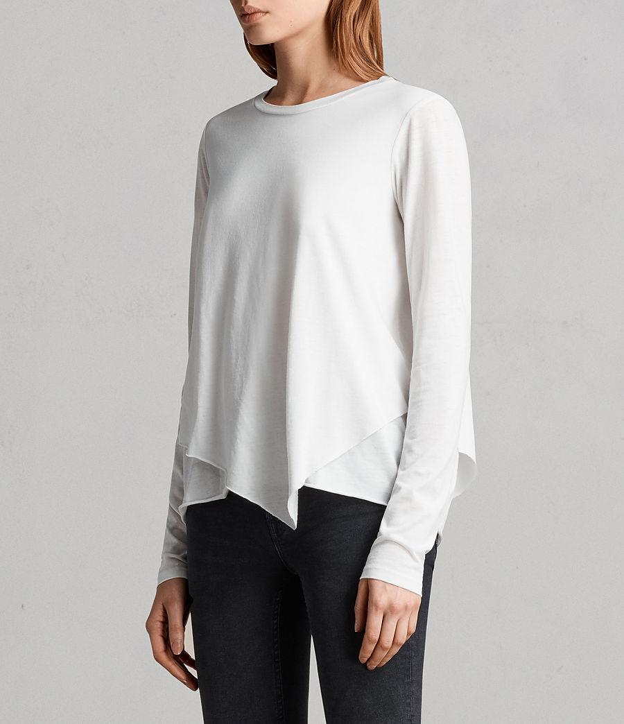 Mujer Camiseta Daisy Devo (smog_white) - Image 2