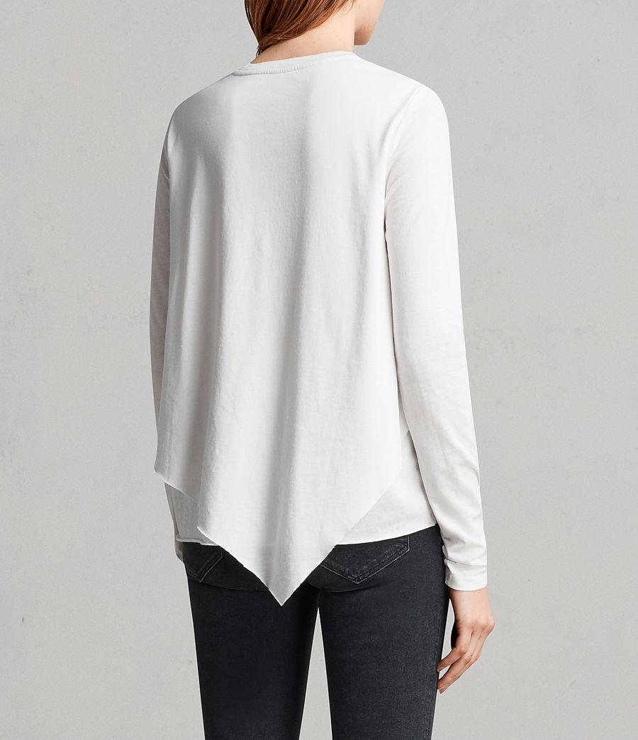 Mujer Camiseta Daisy Devo (smog_white) - Image 3