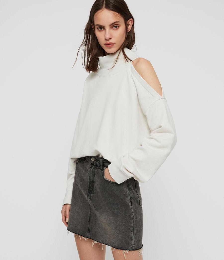 Womens Brady Sweatshirt (ivory_white) - Image 2