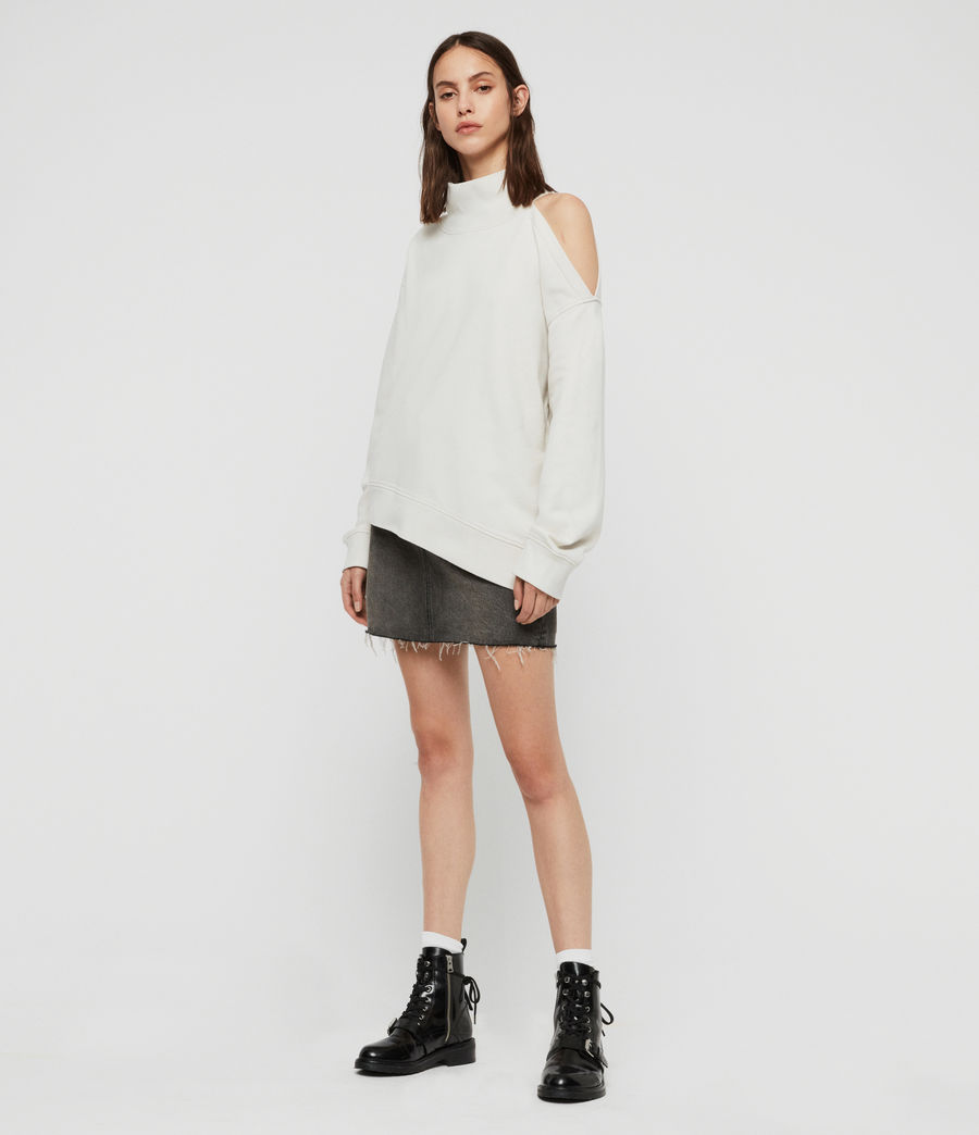 Womens Brady Sweatshirt (ivory_white) - Image 3