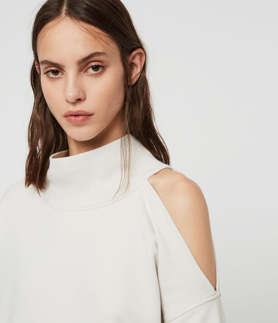 Womens Brady Sweatshirt (ivory_white) - Image 4