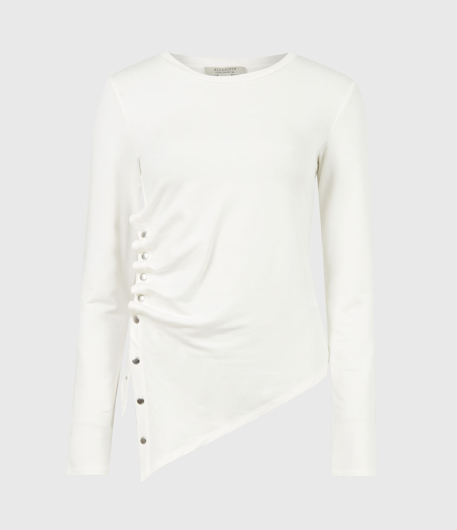 Women's Hatti Long Sleeve T-Shirt (chalk_white) - Image 2