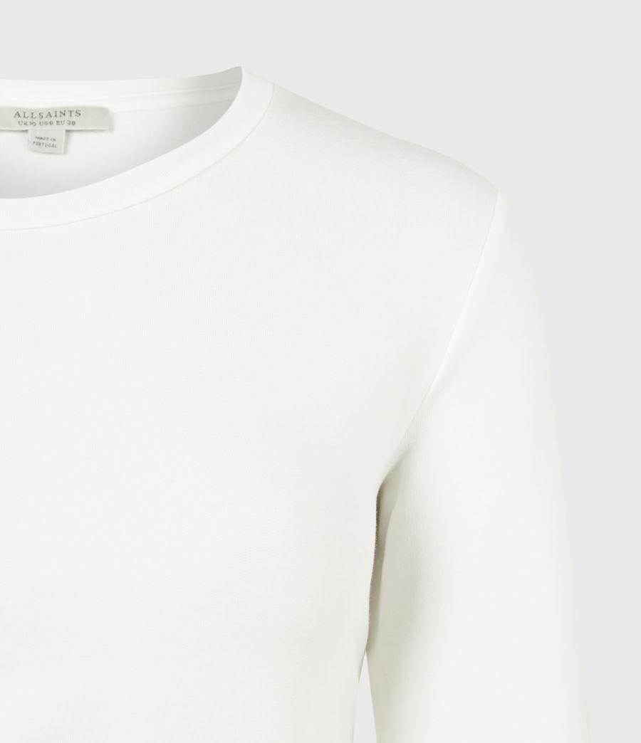 Women's Hatti Long Sleeve T-Shirt (chalk_white) - Image 5