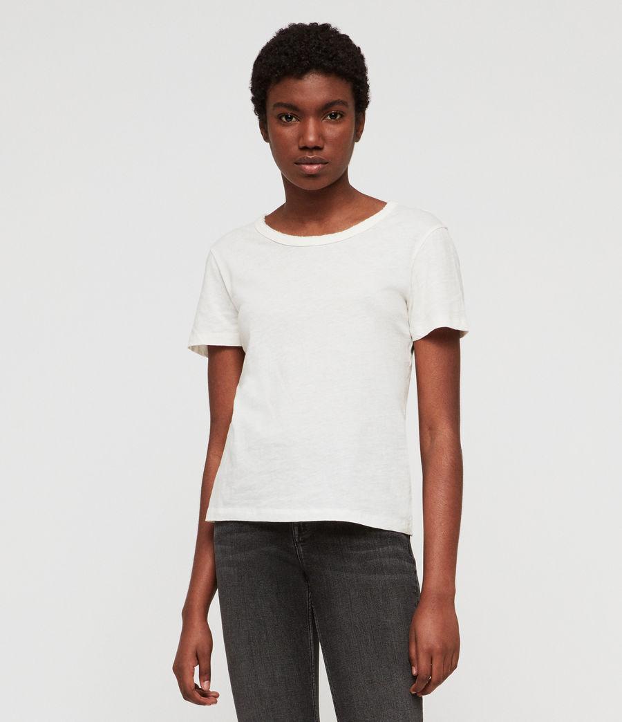 Damen Feda T-Shirt (chalk_white) - Image 1