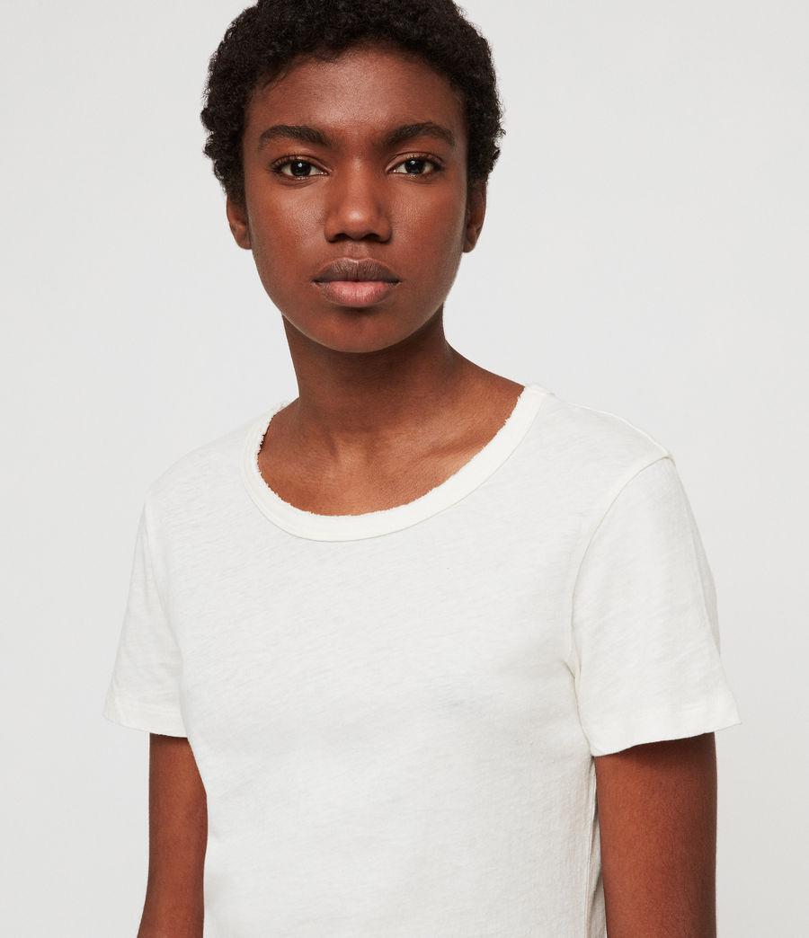 Damen Feda T-Shirt (chalk_white) - Image 2