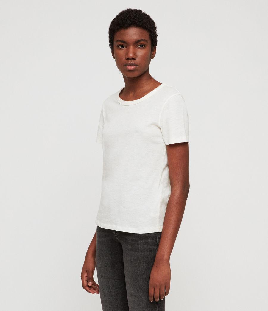 Damen Feda T-Shirt (chalk_white) - Image 3