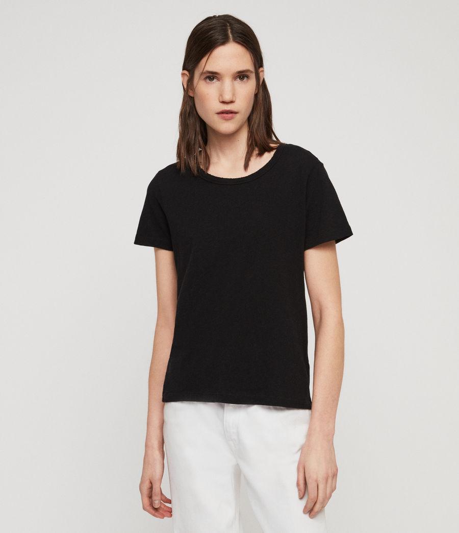 Women's Feda T-Shirt (black) - Image 2