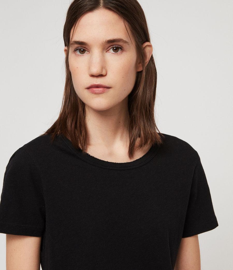 Women's Feda T-Shirt (black) - Image 3