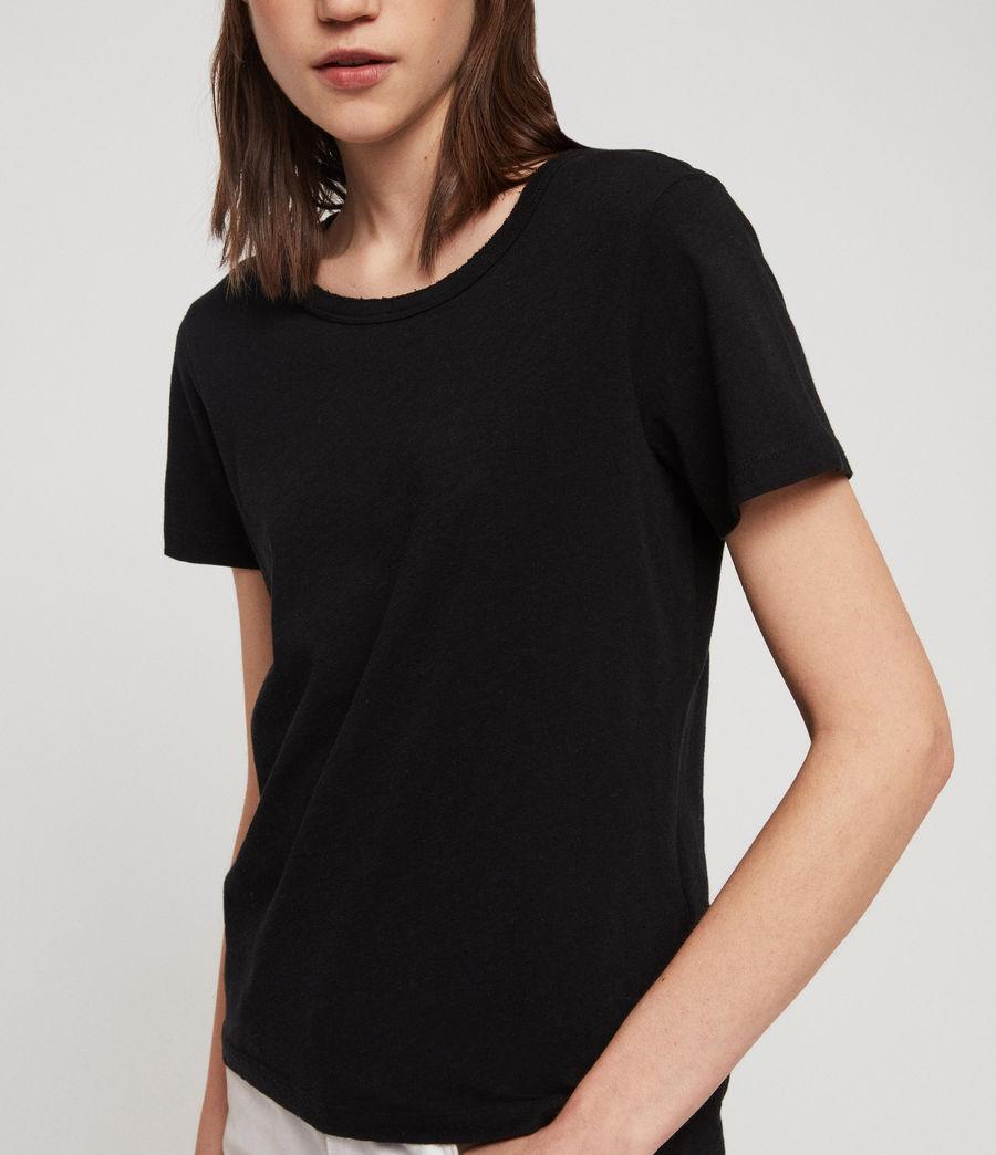 Women's Feda T-Shirt (black) - Image 4