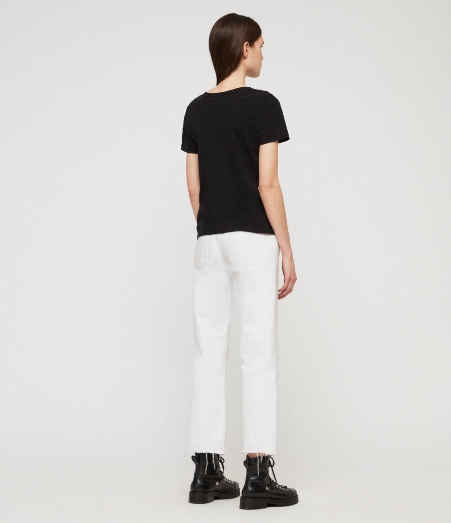 Women's Feda T-Shirt (black) - Image 5