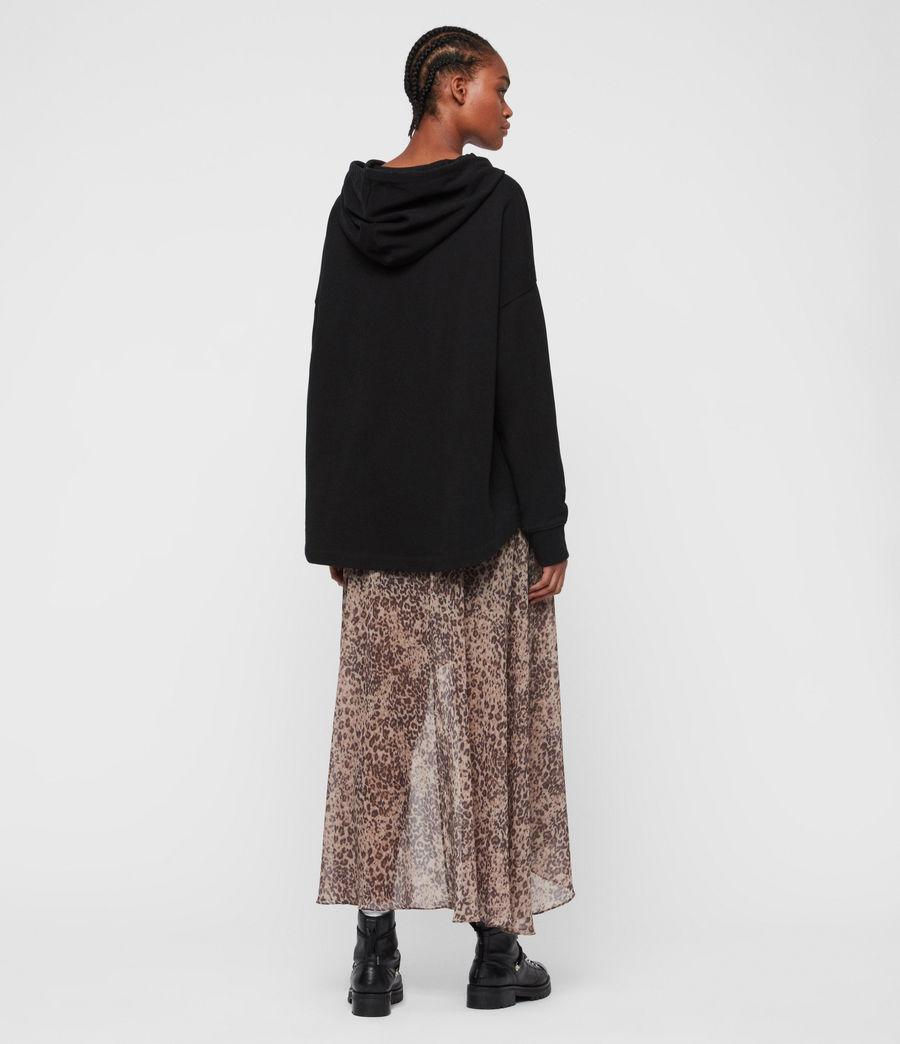Womens Etienne Hoodie (black) - Image 5
