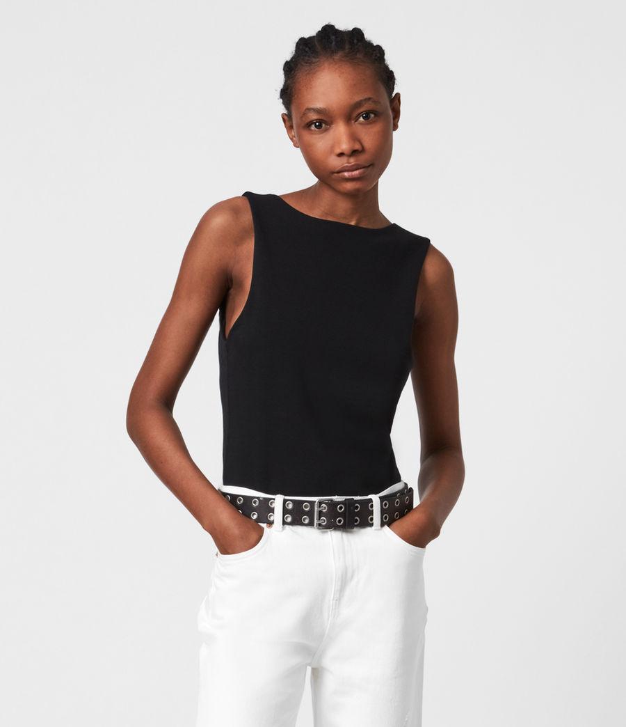 Women's Layla Bodysuit (black) - Image 1
