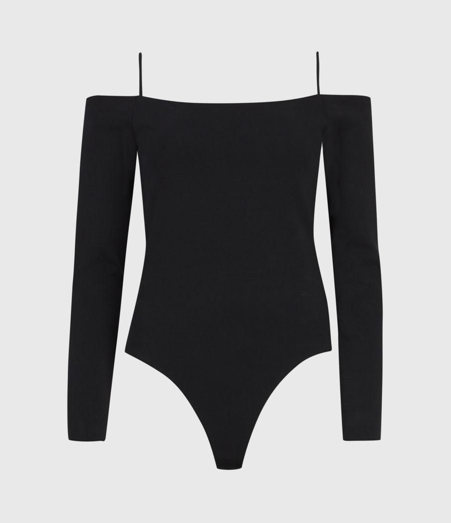 Women's Audery Bodysuit (black) - Image 2