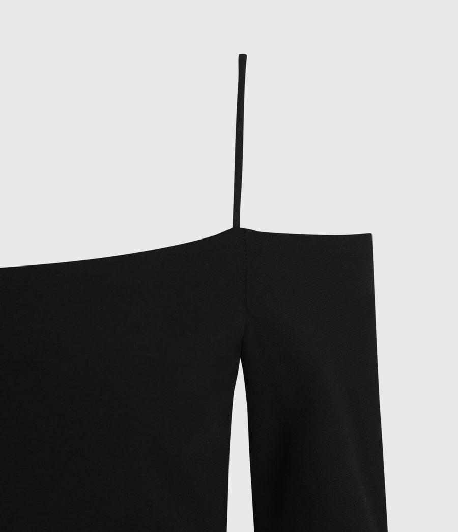 Women's Audery Bodysuit (black) - Image 4