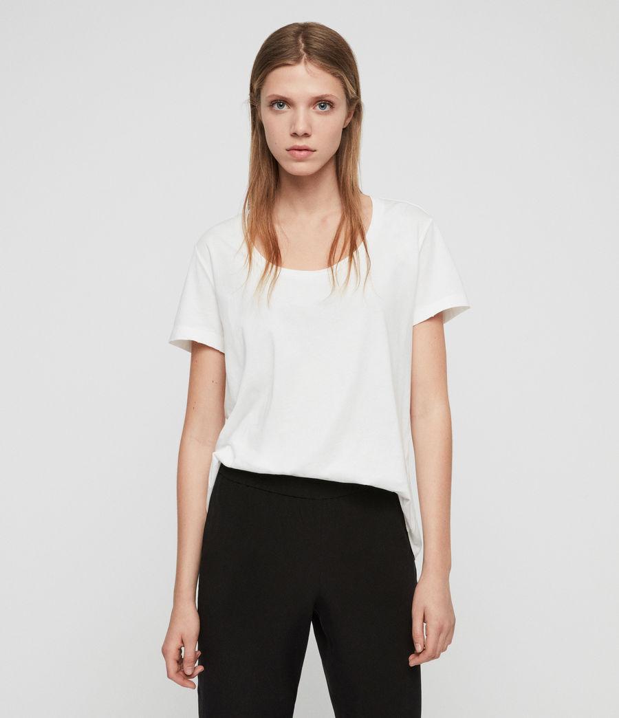 Femmes T-Shirt Nina (chalk_white) - Image 1
