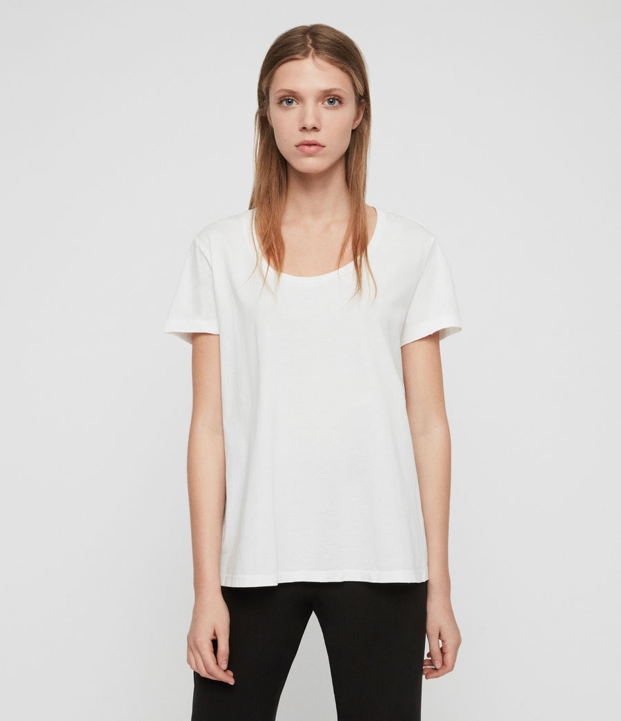 Womens Nina T-Shirt (chalk_white) - Image 3