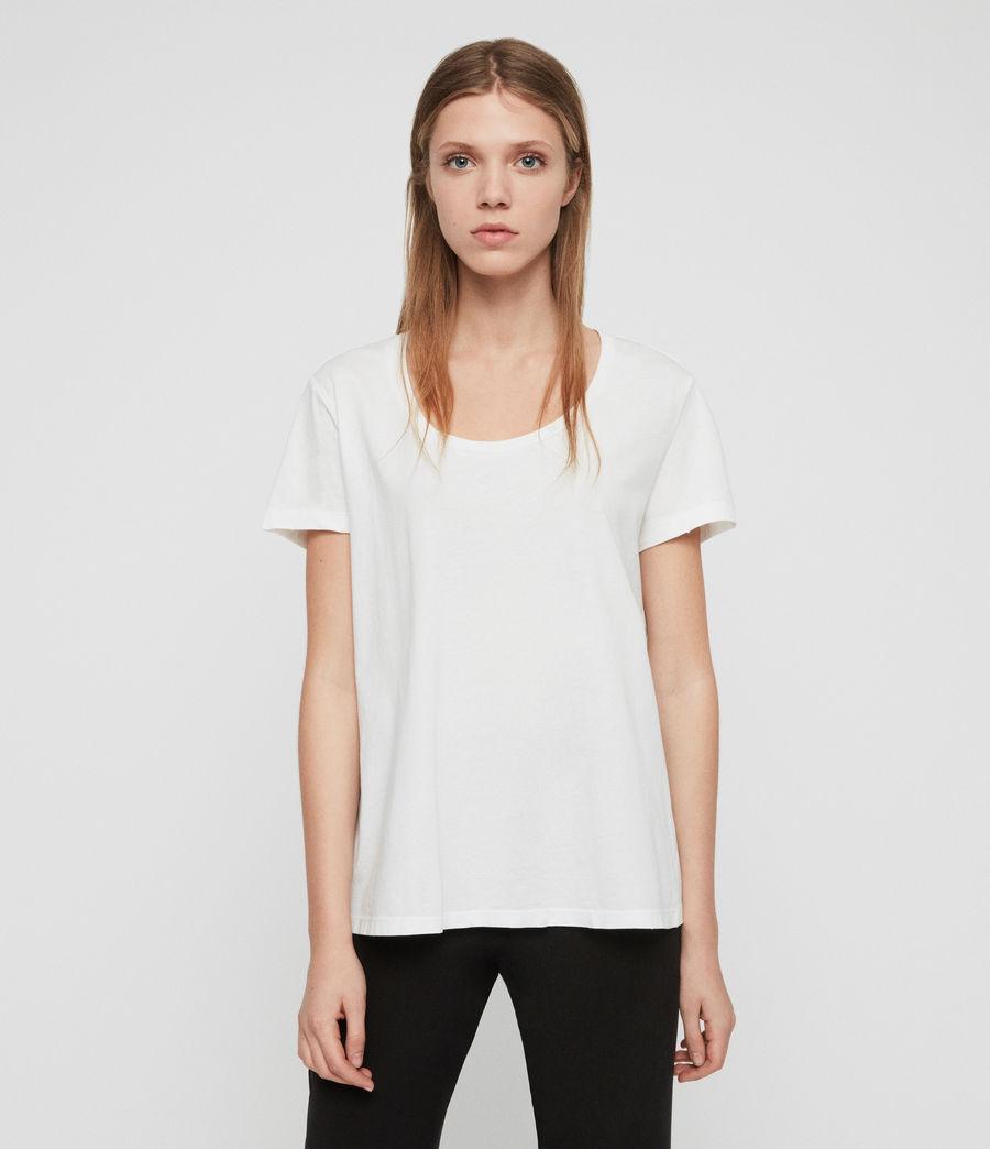 Women's Nina T-Shirt (chalk_white) - Image 3