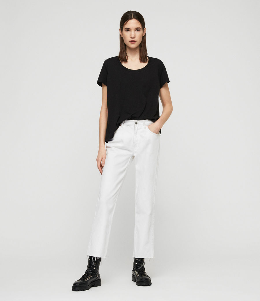 Womens Nina T-Shirt (black) - Image 3