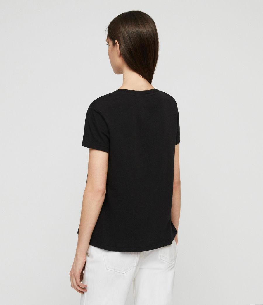 Womens Nina T-Shirt (black) - Image 6