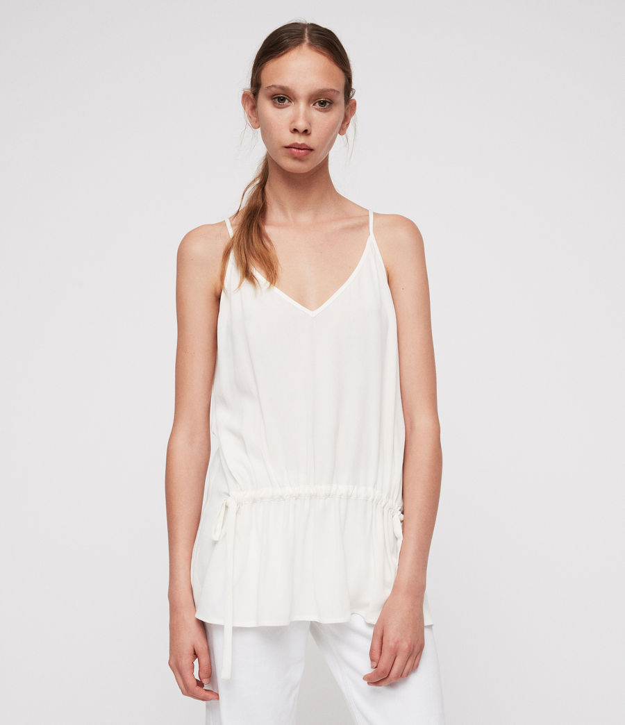 Women's Isabel Top (chalk_white) - Image 1