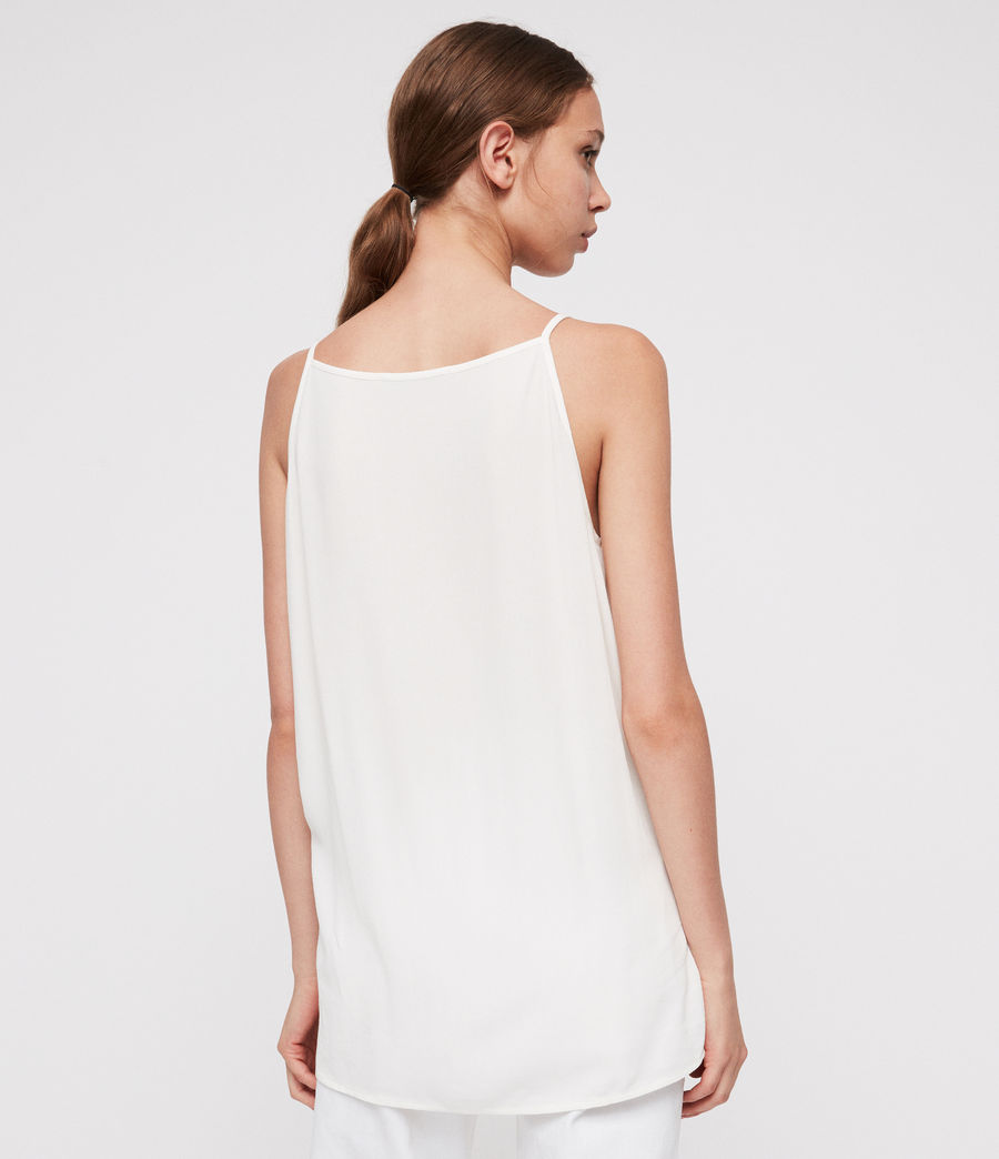 Women's Isabel Top (chalk_white) - Image 4