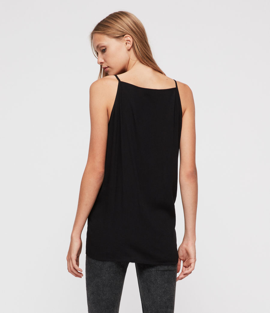 Womens Isabel Top (black) - Image 3