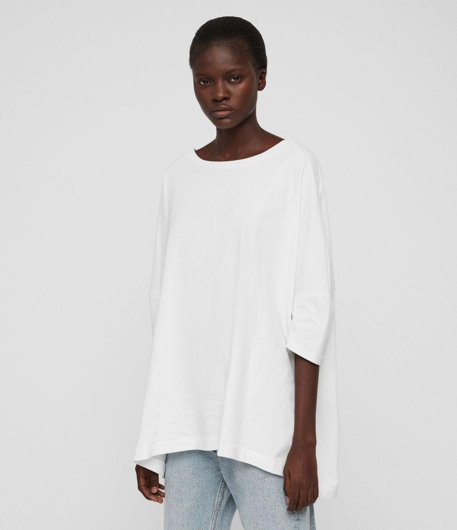 Womens Plira T-Shirt (chalk_white) - Image 3