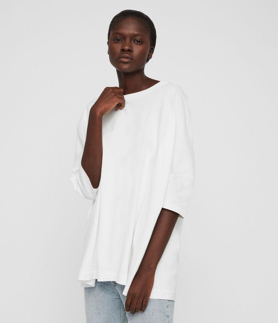 Womens Plira T-Shirt (chalk_white) - Image 4