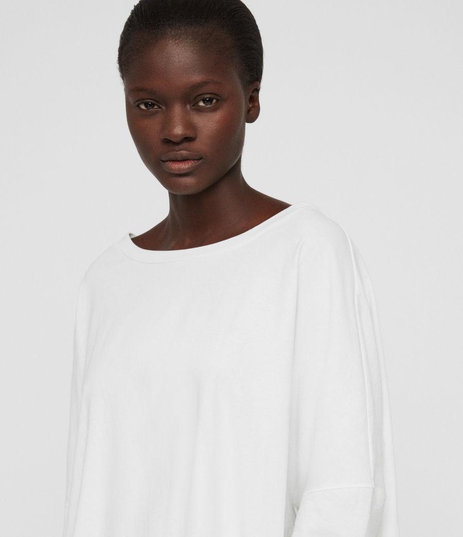 Womens Plira T-Shirt (chalk_white) - Image 5