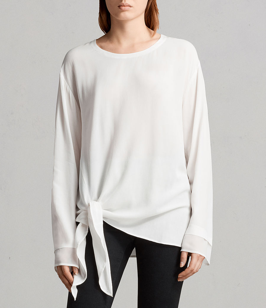 Mujer Top Ricco (chalk_white) - Image 1