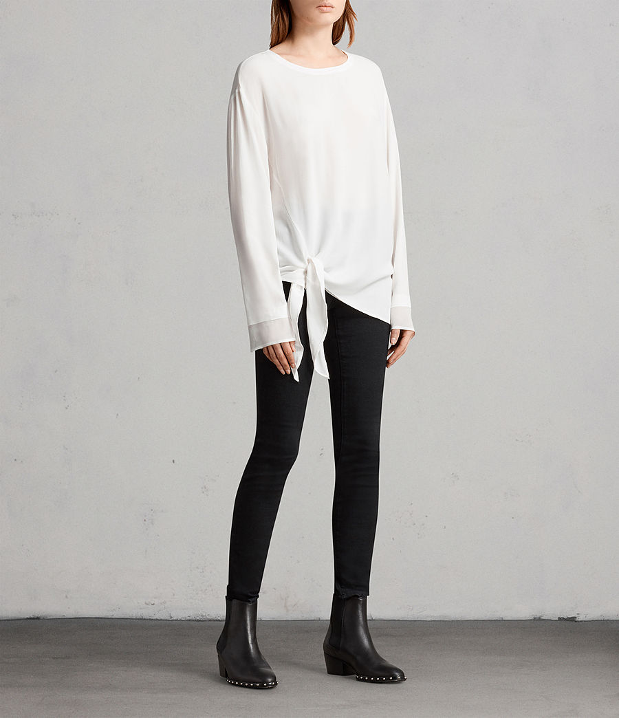Mujer Top Ricco (chalk_white) - Image 3