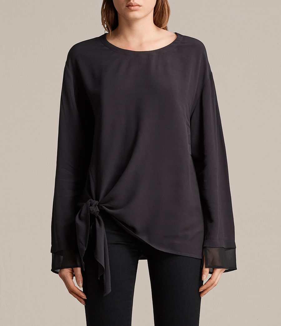 Womens Ricco Top (black) - Image 1