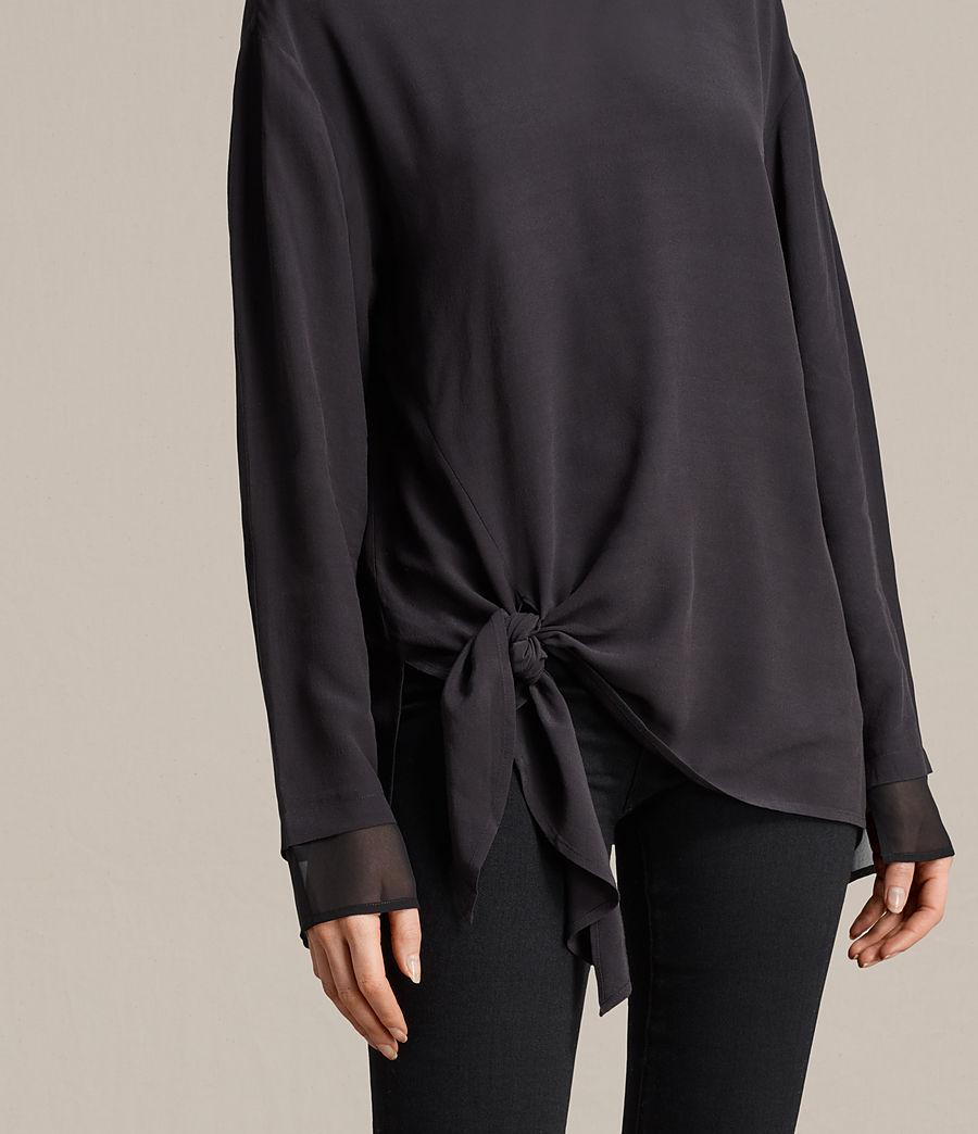 Womens Ricco Top (black) - Image 2
