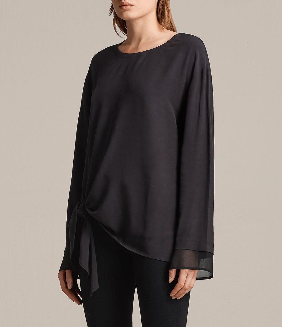 Womens Ricco Top (black) - Image 3