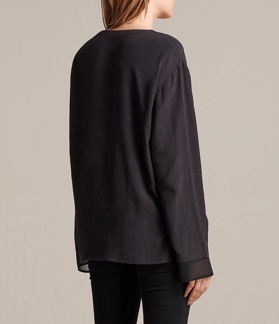 Womens Ricco Top (black) - Image 4