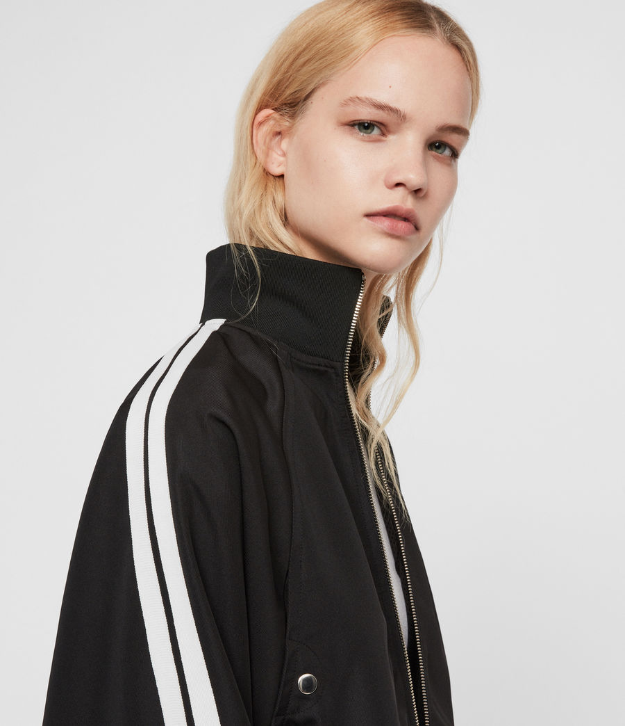 Women's Marty Track Jacket (black) - Image 1