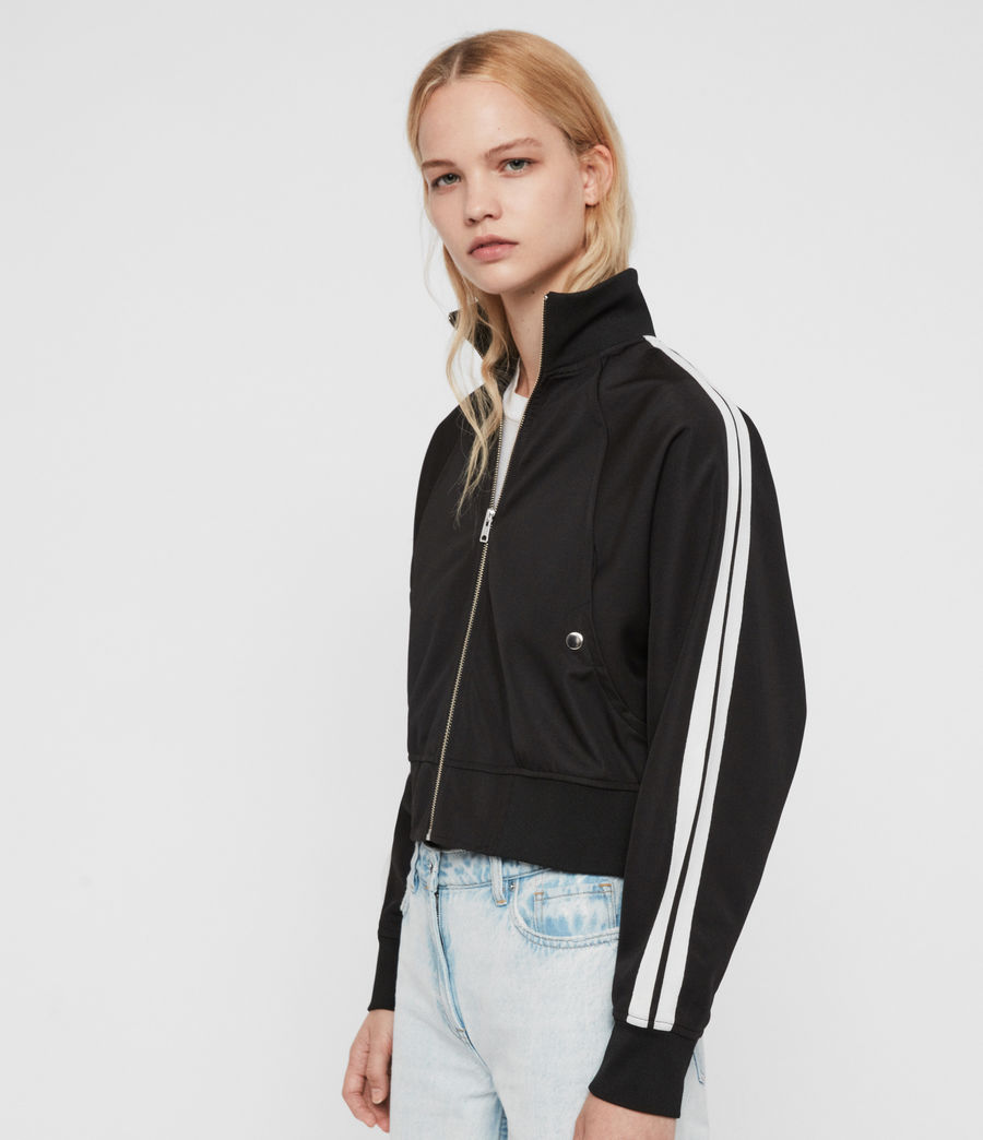 Women's Marty Track Jacket (black) - Image 2